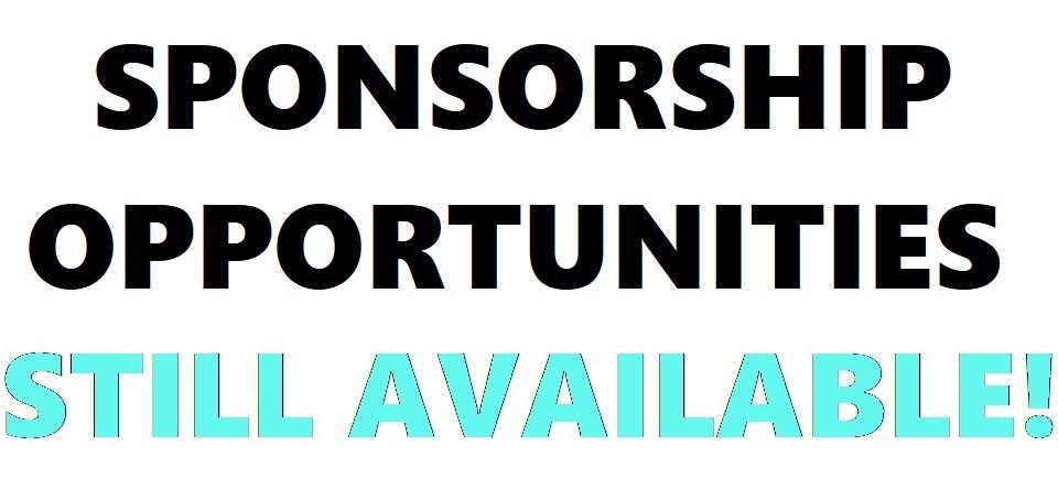 Sponsorship Opportunities Still Available